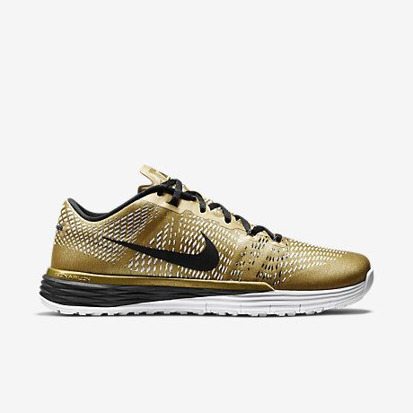 My Top Training Shoes now on ShopStyle Collective. Gold Nikes and fitness  trainers