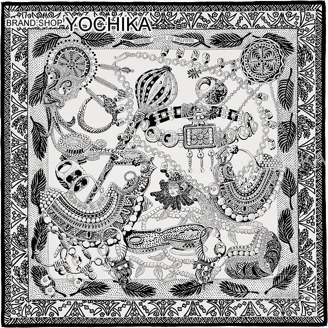 BRANDSHOP YOCHIKA   Rakuten Global Market  HERMES Hermes scarf scarves 90