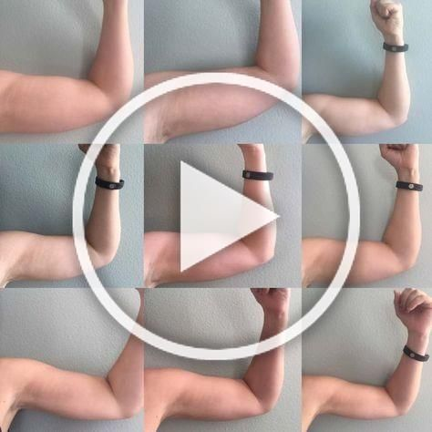 How 1 workout routine got rid of my arm flab in 12 weeks. #armflab #tonearms #fitness #armworkouts
