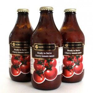 Simple, fresh and ready to eat, Agromonte cherry tomato sauce is made with simple ingredients like extra virgin olive oil, basil, celery and salt. http://zarasdeli.com/product-category/mediterranean-pantry/pantry-tomatoes/