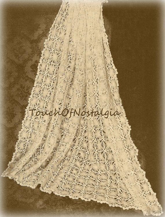 Lacy Baby Shawl Crochet Pattern Daisy Lace Baby Shawl Blanket