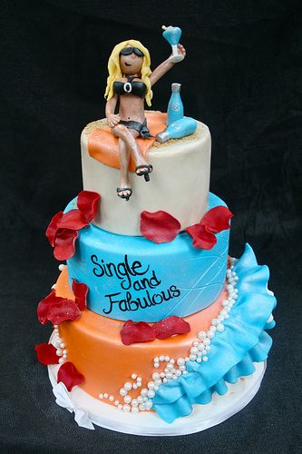 I don't know if I want to eat these cakes or cry (21 ... |Funny Women Cake Ideas