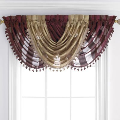 Jcpenney Royal Velvet 174 Hilton Rod Pocket Waterfall
