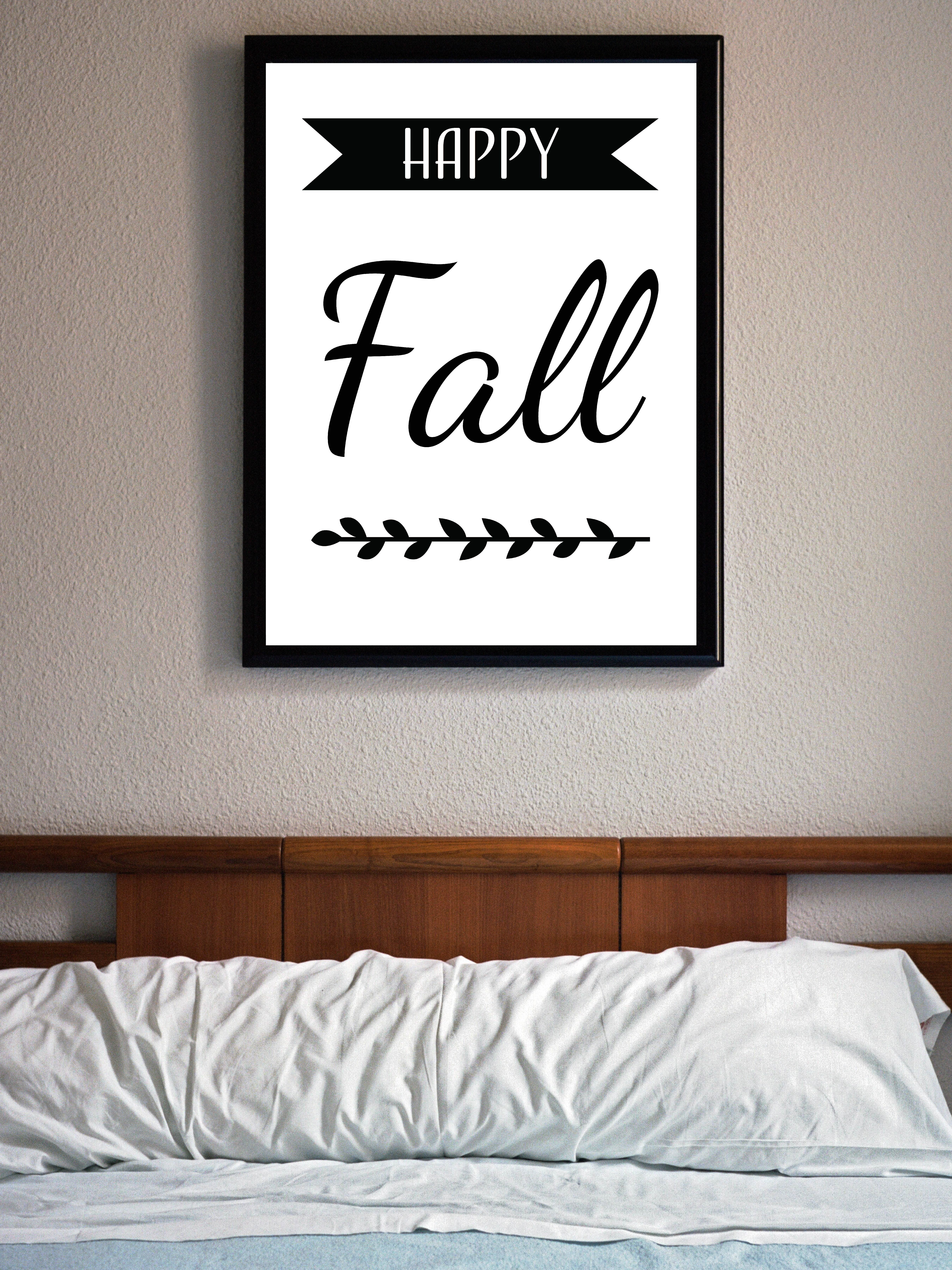 Hello Fall Banner Fall Printable Hello Fall Laurel