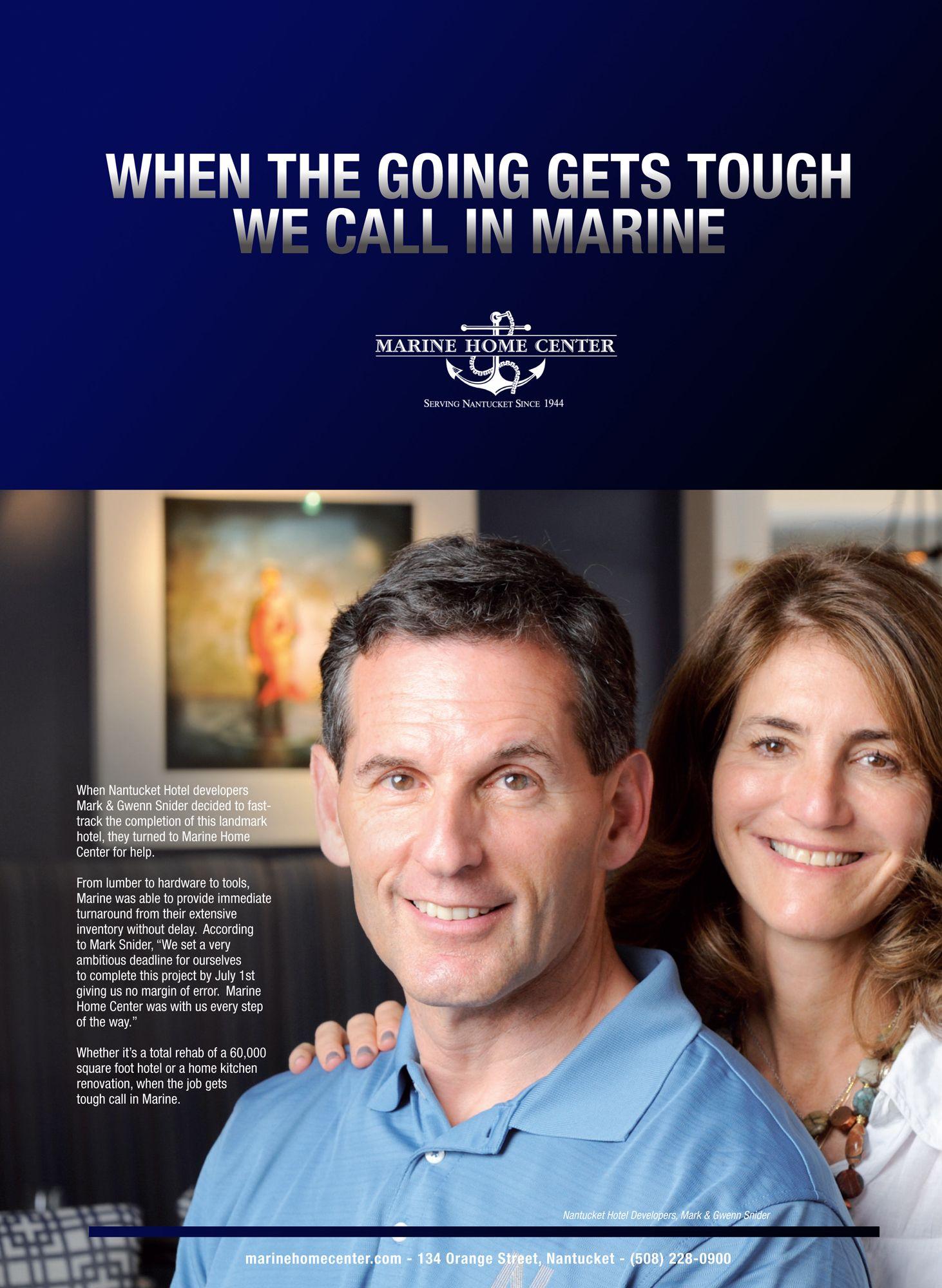 Nantucket Hotel Mark & Gwenn Snider