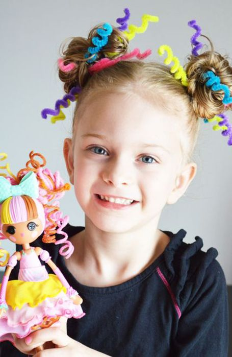 20 Crazy Hair Day Ideas for Girls