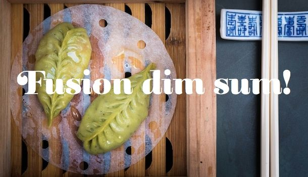 Man Mo Cafe on the Antiques Street - fusion dim sum for a slightly more special dinner