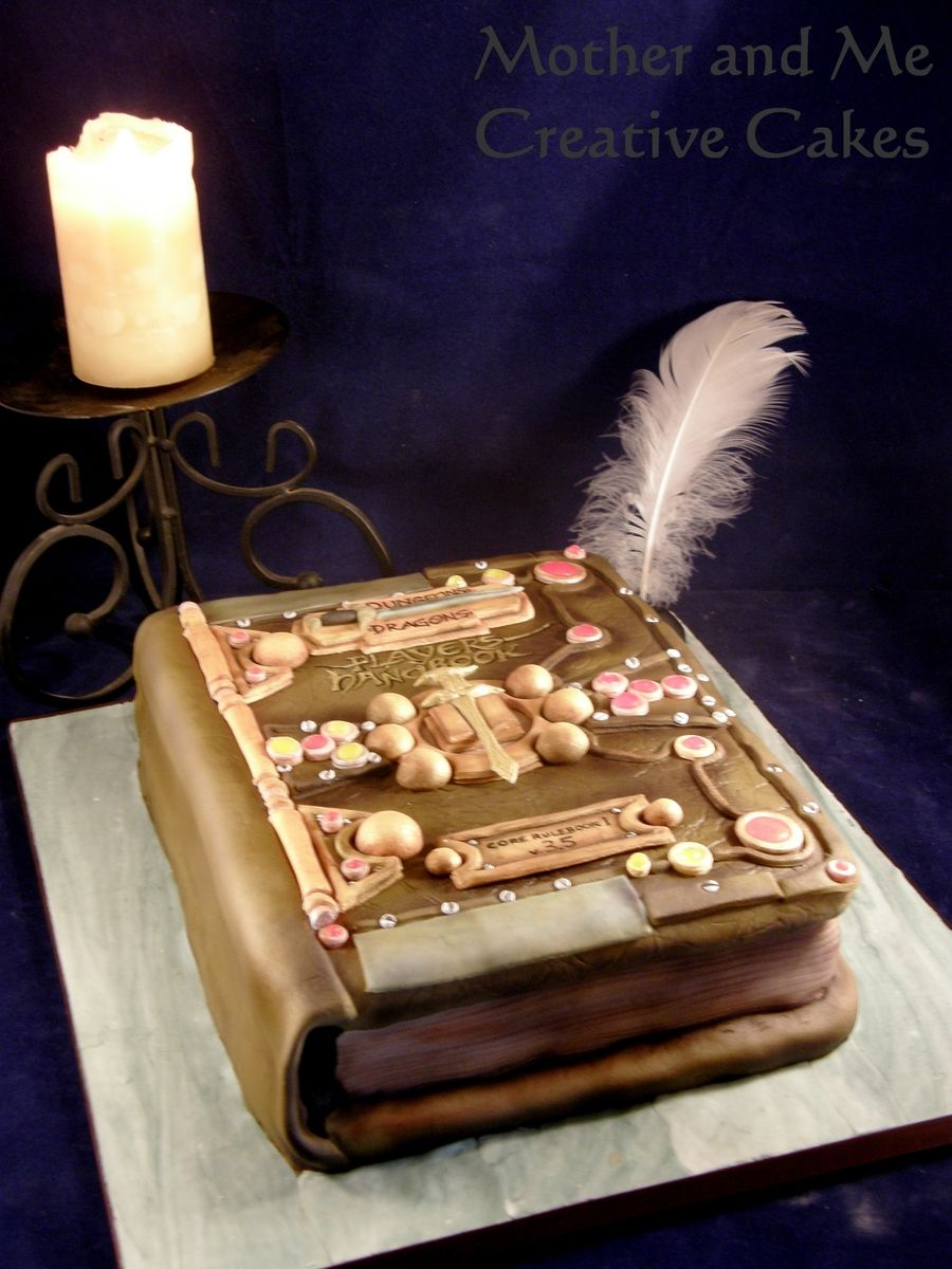 Dungeons And Dragons Rulebook Dragon Birthday Cakes How To Make