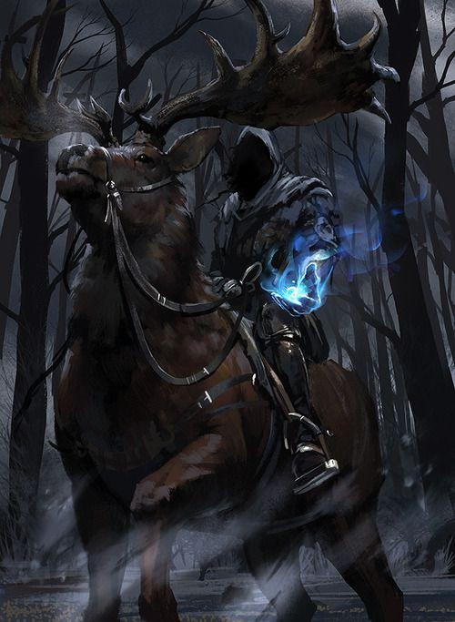 Elk Rider - Digital Art Masters Volume 4
