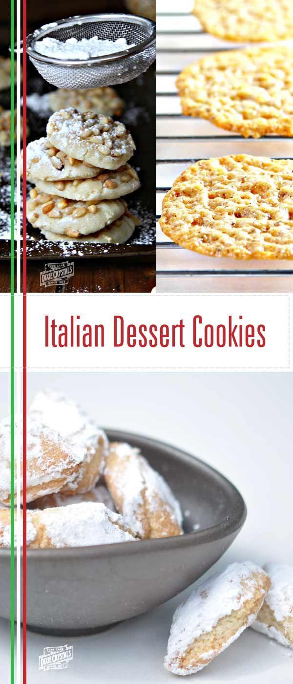How to Make Italian Cookies - Pignoli, Florentines & Ricciarelli ...