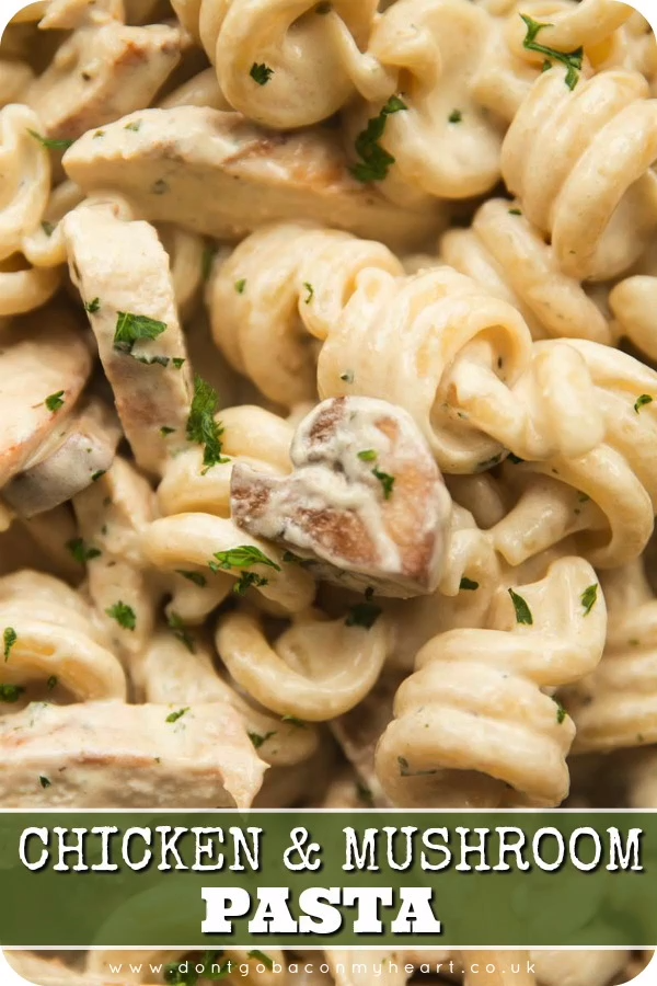 Photo of Chicken and Mushroom Pasta