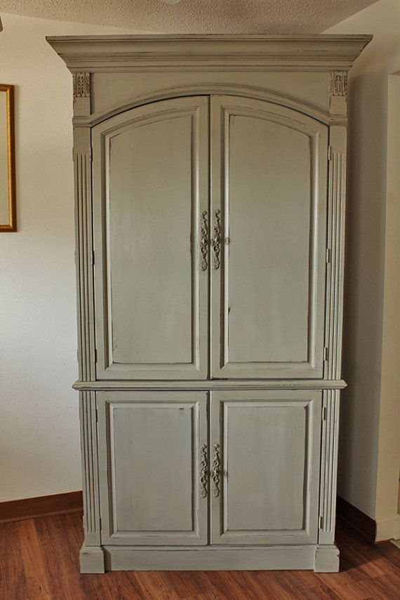 Painted armoire ideas | Furniture painting | Pinterest