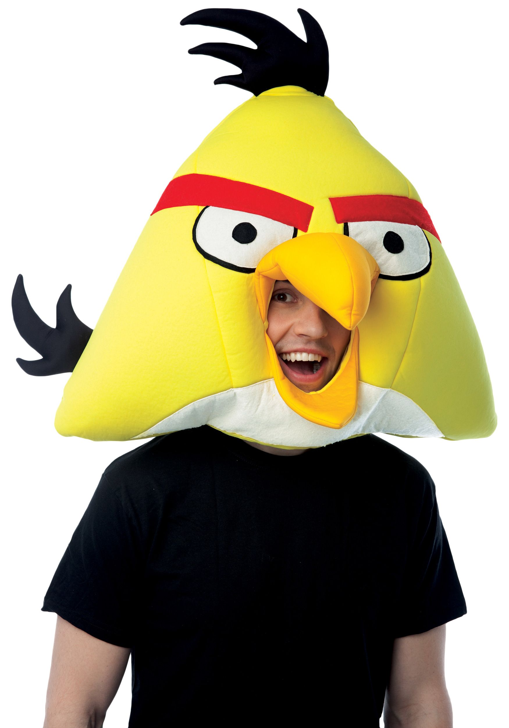 Angry Birds Yellow Fabric Face Mask | masks | Pinterest | Tessuto ...