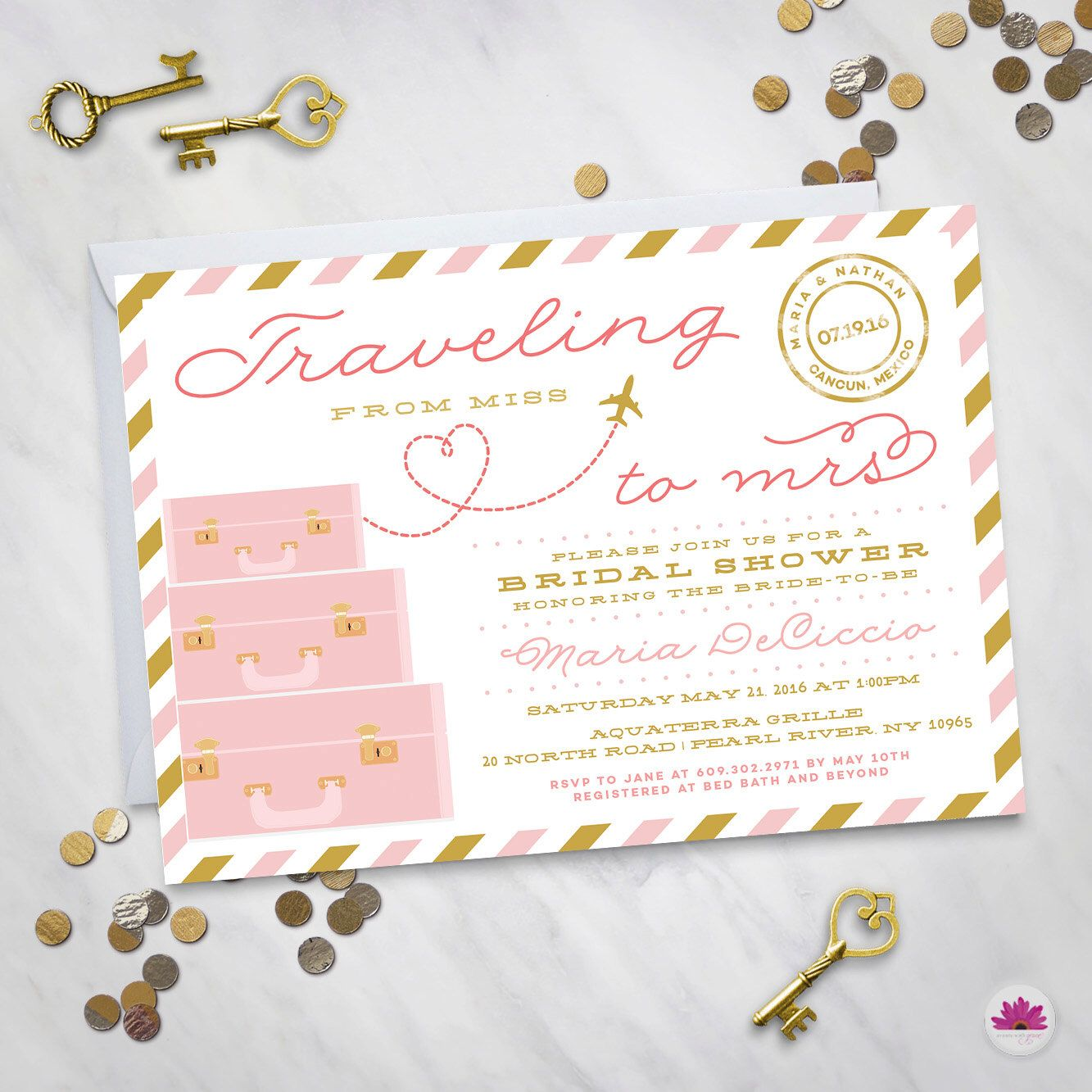 Destination Wedding Quotes For Invitations: Pin By Karyn Vratimos On Sophia's Bridal Shower