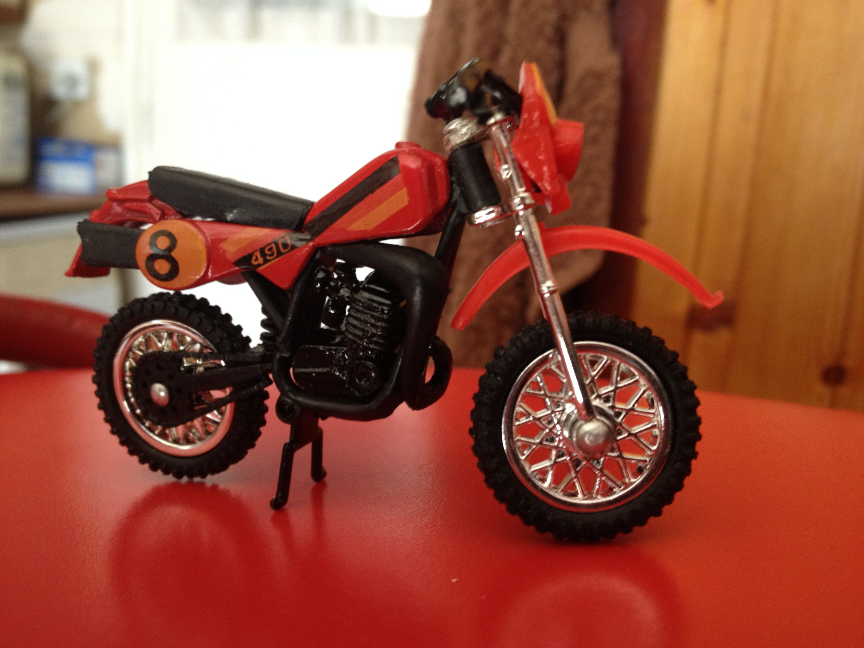 Maico Enduro82 With 79 Plasticsunless Anybody Can Tell Me Different