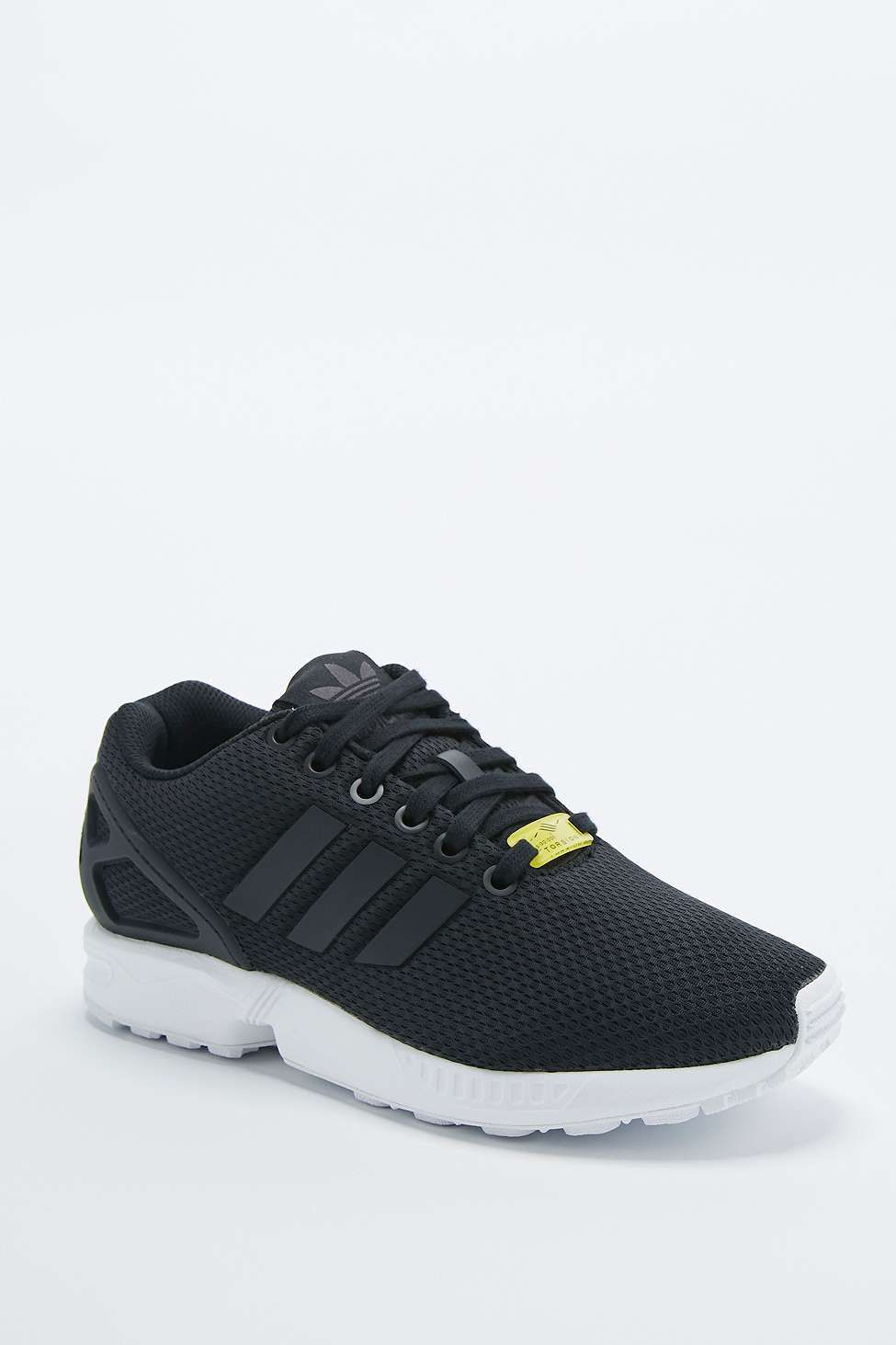 0e9b2ac4c adidas ZX Flux Black Trainers