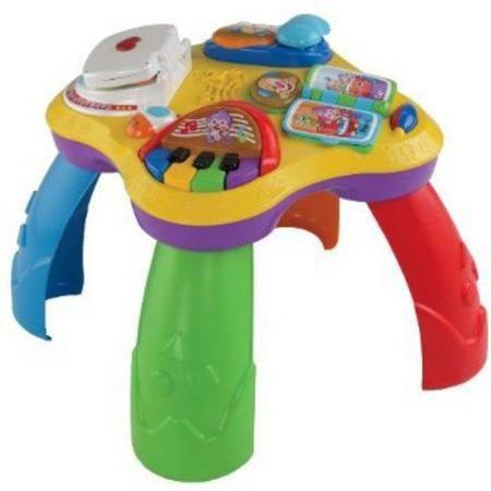 Fisher Price Laugh Learn Puppy Pals Learning Table Walmart Com Brinquedos Brinquedos Para Bebês