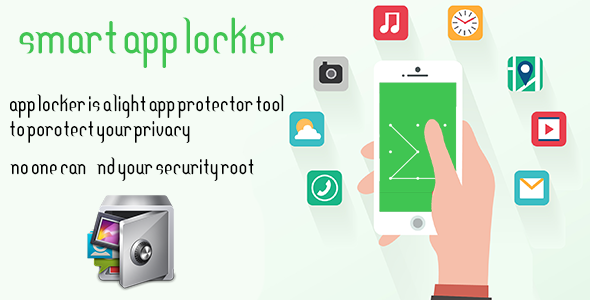 Smart App locker - Protect data - Android Studio Project With Admob