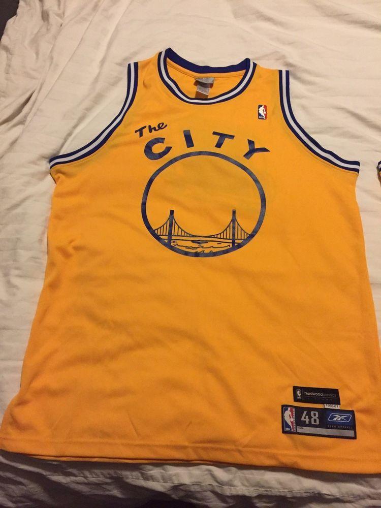 db2ccf569e4b eBay  Sponsored AUTHENTIC Reebok Golden State Warriors Jersey
