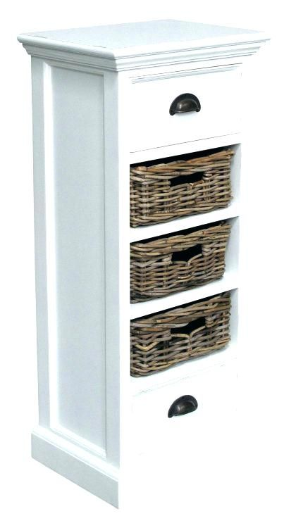 Bathroom Storage With Basketsmedium Size Of White Rattan Units Next Wicker