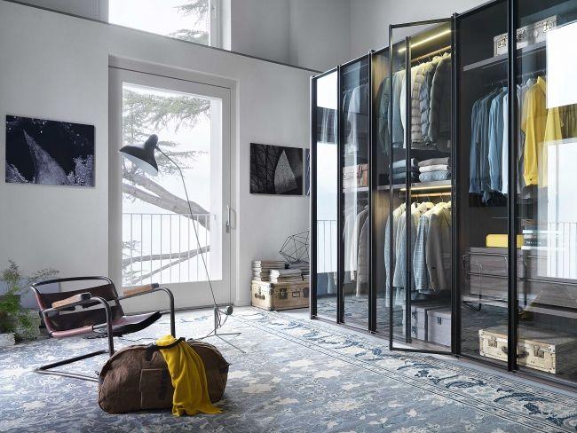 Lema Mobili Com.Robes Lema Mobili Glass Doors Dressing Modular