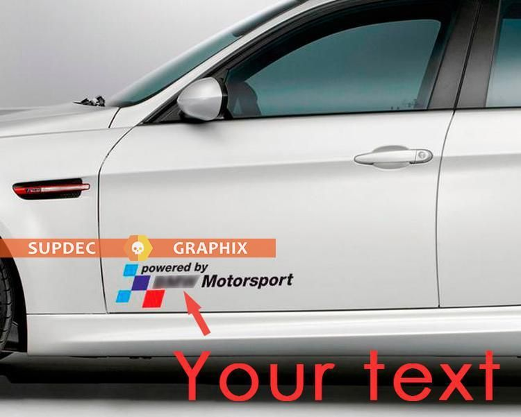 2 Powered By Text Motorsport Vinyl Stickers Decals For Bmw M3 M5 M6 E36 E46 E92 E60 F10 F15 F16 F30 G05 G20data Pin Custom In 2020 Bmw M3 Motorsport Vinyl Sticker