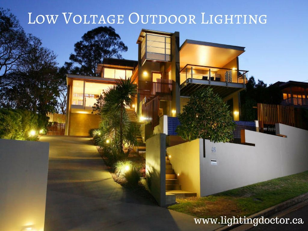 Install pretty Low Voltage Outdoor Lighting Canada If you want to ...