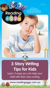 Children will need to write stories once they start school so learning how to write stories is an important skill to learn.