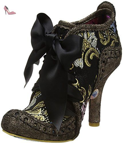 Abigails Third Party, Escarpins Femme - Noir (Noir/Argenté) 37 EUIrregular Choice
