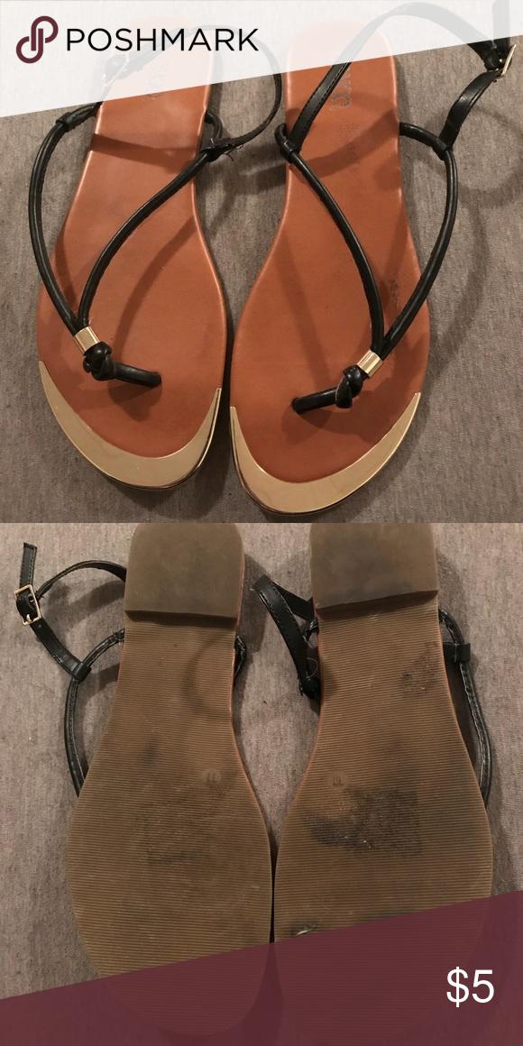 c1759e2fa0db BONGO Womens Brown Strappy Flip Flop Sandal 11 BONGO Womens Brown Strappy  Thong Flip Flop Slip