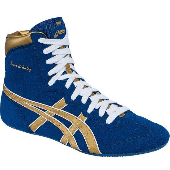 check out 7650b 11813 ASICS Dave Schultz Classic Wrestling Shoes- size 8-8.5