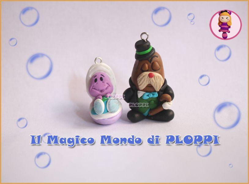 Fimo Ostrichetta E Tricheco Alice In Wonderland By
