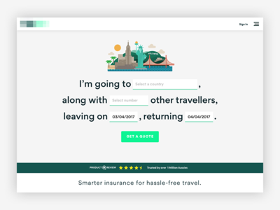Travelers Insurance Quote Prepossessing Travel Insurance Quote  Web Design  Pinterest  Travel Insurance . Review