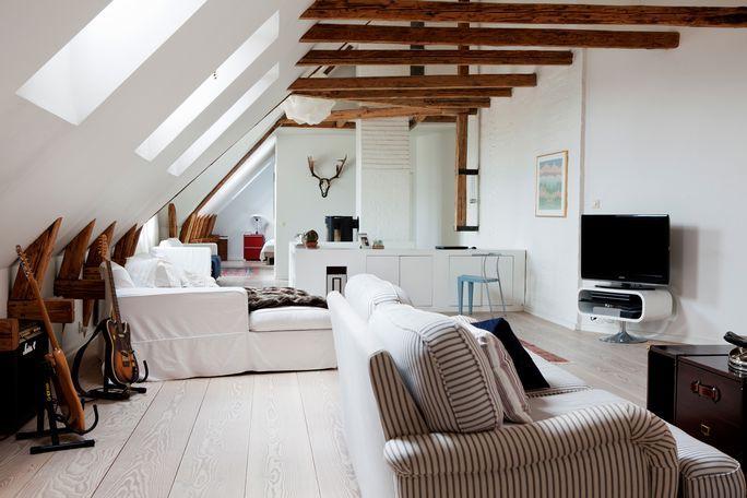 Duplex sous les toits   Sous les toits, Le toit et Combles