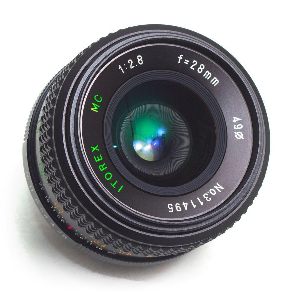 Itorex 28mm F2 8 MC Wide Angle LENS Macro Pentax K PK fit Manual