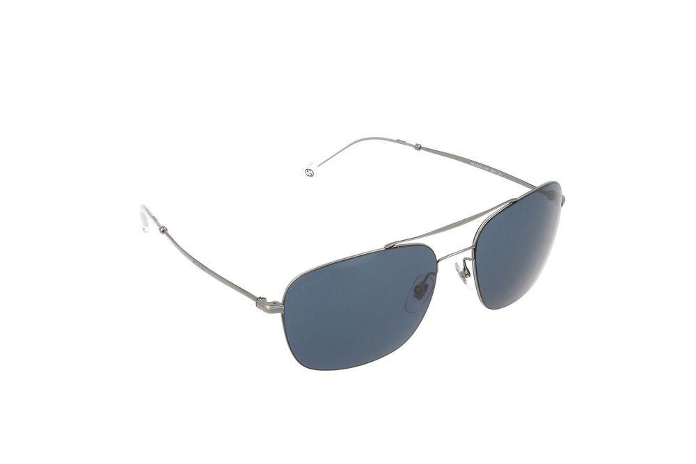 0ab65675599 Gucci Sunglasses - 2262   Frame  Dark Ruthenium Lens  Blue (eBay Link)