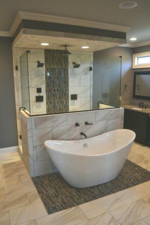 plans de salle de bains avec douche à l\'italienne ...