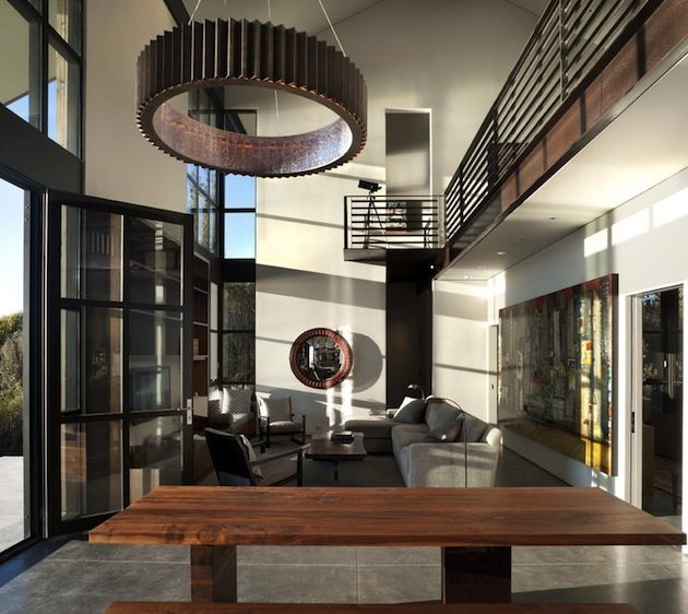 16 Spaces Featuring The Steampunk Interior Trend (2)