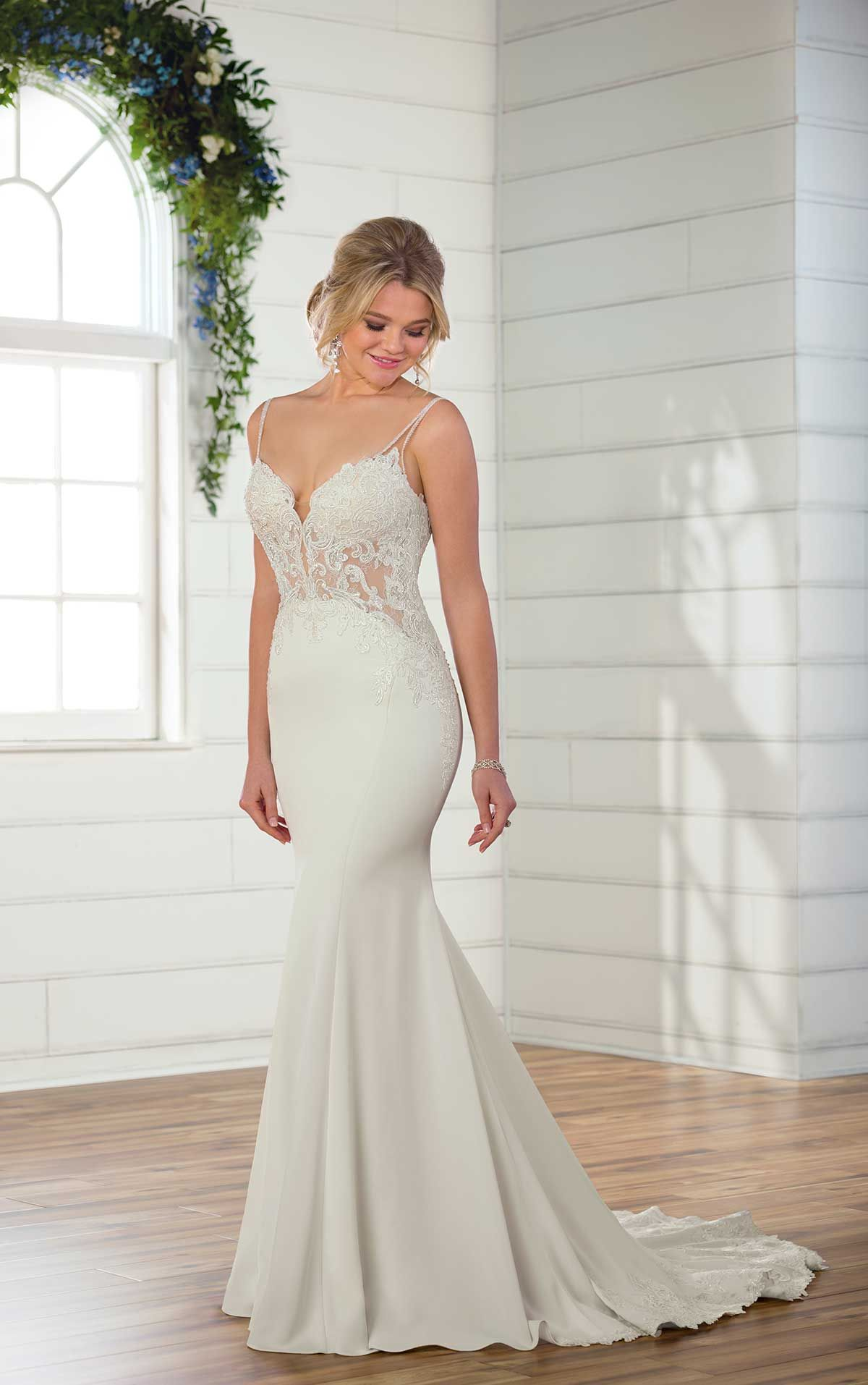 Sheer wedding dress  Beaded Sheer Wedding Dress  boom  Pinterest  Sheer wedding dress