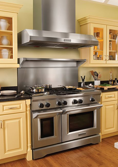 The New Kitchenaid Range Cookers Are Among The Most Powerful Best Performing Cooking Appliances Kitchenai Kitchen Aid Appliances Kitchen Design Trendy Kitchen