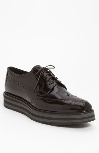de58e8de8a12b Prada Double Sole Wingtip available at #Nordstrom | B.dapper in 2019 ...