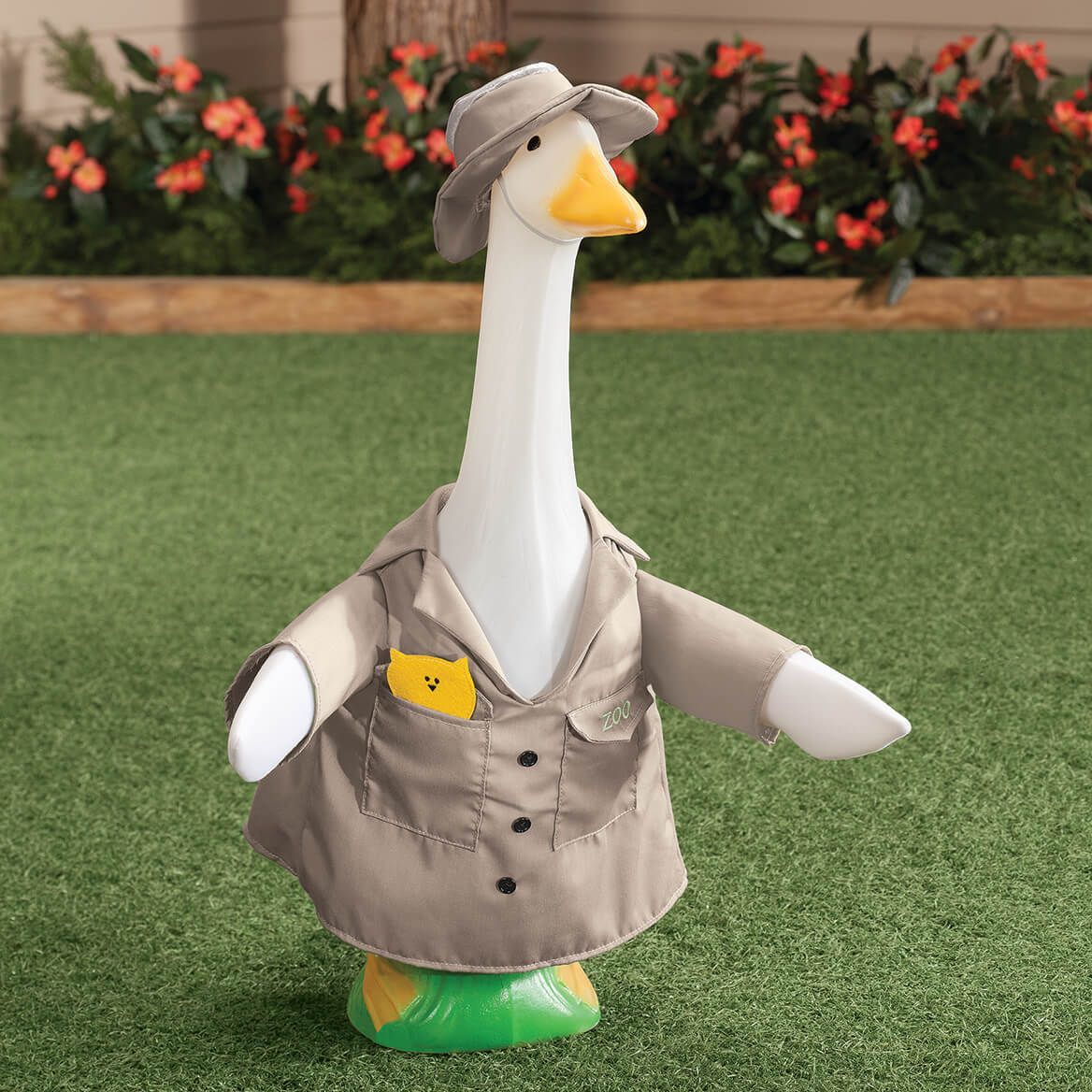 Zookeeper Goose Outfit Goose Clothes Porch Goose Patriotic Outfit