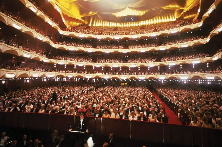 Groovy Inside Metropolitan Opera House Lincoln Center Nyc The Home Interior And Landscaping Analalmasignezvosmurscom
