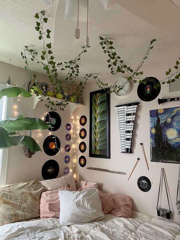 Decorative Vines Set Retro Bedrooms Indie Room Indie Room Decor