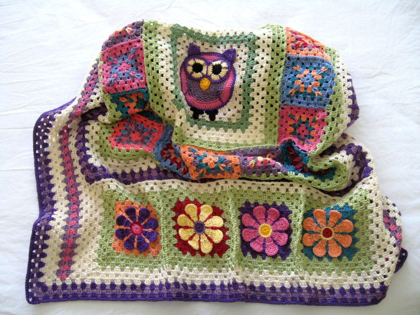 Free crochet owl patterns blanket httpebayitm free crochet owl patterns blanket httpebay bankloansurffo Image collections