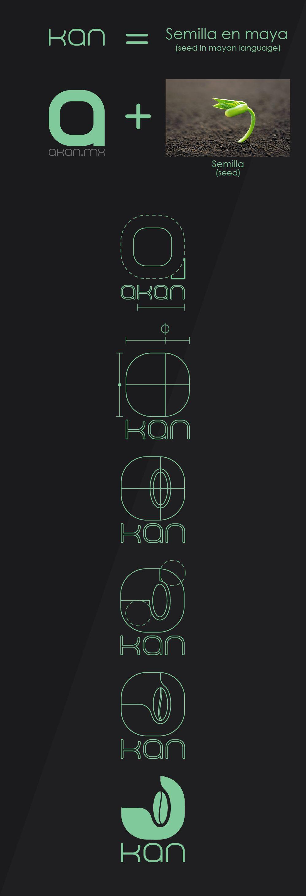 Checa el trabajo en nuestro perfil de  Behance! https://www.behance.net/gallery/17060681/Logo-Kan