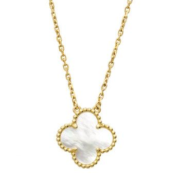 Van cleef arpels vintage alhambra pendant on chain jewellery van cleef arpels vintage alhambra pendant on chain aloadofball Image collections