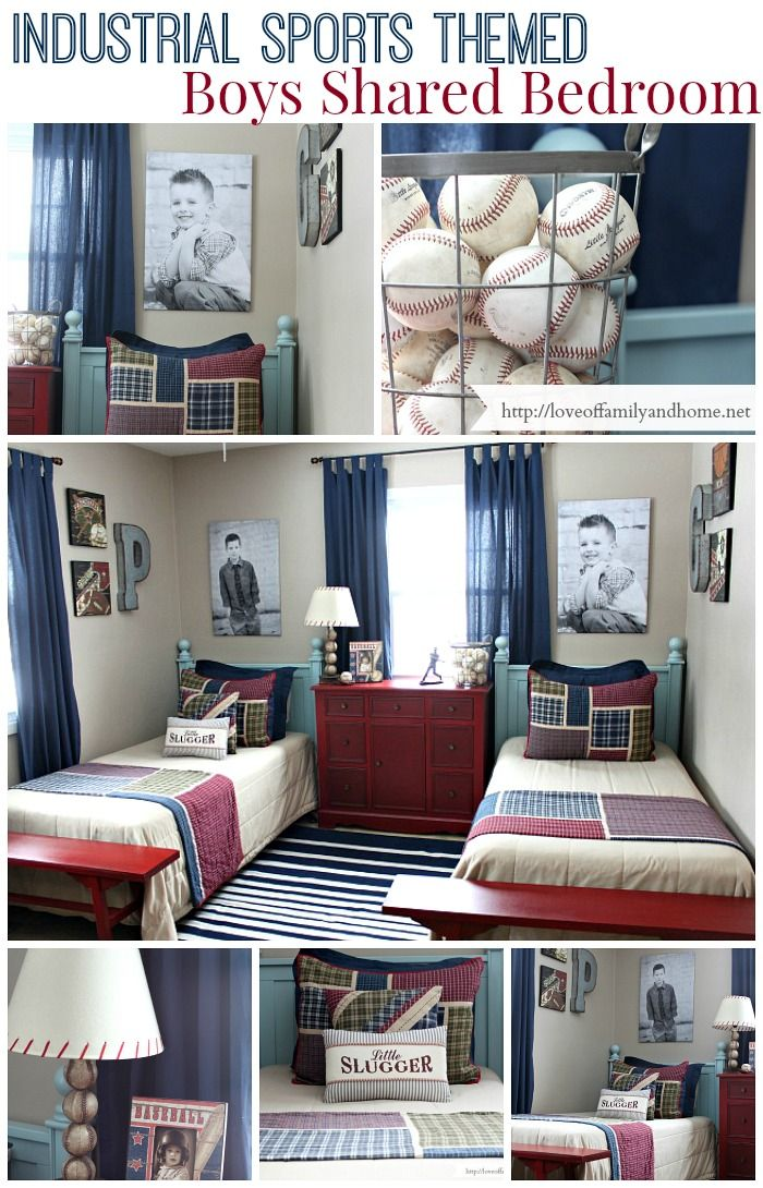 Boys Shared Bedroom Progress Love of Family & Home