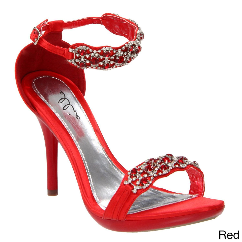 3ab15f8dbd9 Ellie  431-Sterling  Women s Rhinestone Heel