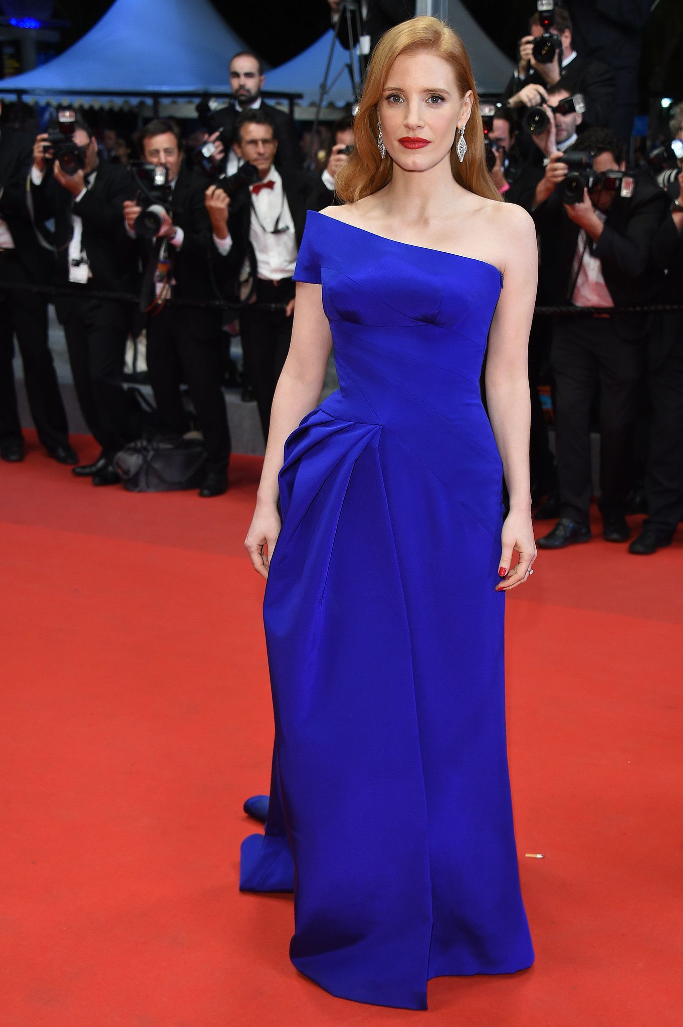 Jessica Chastain at the Disappearance of Eleanor Rigby Premiere ...